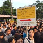 North-South Line breakdown: Crowds outside Bishan MRT station and at the bus stop opposite https://t.co/DiBh9n7vZx https://t.co/YDHqeTNkxq