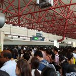 UPDATE: Stations along #NSL are packed following 2-hour disruption https://t.co/HncLwS9H1I https://t.co/PSdm7fB0NS
