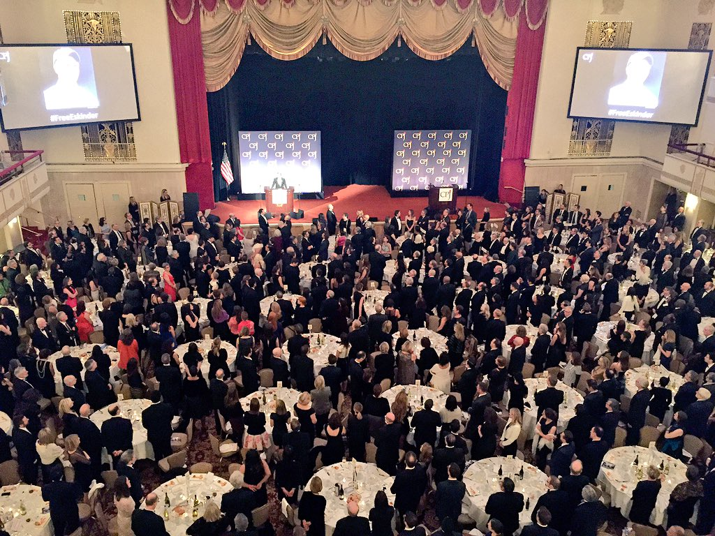The Ballroom stands in solidarity with jailed journalists around the world. @pressfreedom #IPFA https://t.co/2ula15PF4K