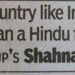 There is no country like India, no better neighbour than a Hindu for an Indian Muslim. So true!! https://t.co/nkFdWKdPXa
