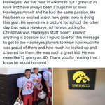 @chadgreenway52 @IowaFBLive @coach_Doyle get the word out for his family. incredibly sad to lose a child. #Hawks https://t.co/jfMAwO8kjp