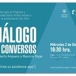 Lanzamiento libro Diálogo de Conversos de @robertoampuero y @MauricioRojasmr el 2 de dic. en #Temuco @fppchile https://t.co/sseSKP3avU