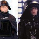 Neue Schutzkleidung der #Polizei in Bayern. https://t.co/tgW5Cq2tQ9