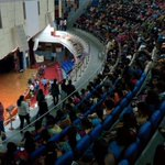 2 packed auditoriums at Mount carmel college #seizethefuture @OfficeOfRG https://t.co/HGTc2cvmfD