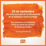 Dia internacional de la Eliminación de la Violencia contra la Mujer #NiUnaMenos https://t.co/hHFLaqz6Oc