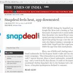 #AppWapsi @Snapdeal feels heat, app downrated https://t.co/WwtSG4cgxs #BootOutSnapdeal https://t.co/PtXGKc0qoS