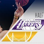 Warriors up at the half https://t.co/OnTA6EIKOe