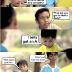 We all have that one friend in school... #PSLE #psleresults https://t.co/ByqhyndAzA