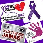 Hoy y siempre ¡NO A LA VIOLENCIA MACHISTA! Buenos días a tod@s y feliz miércoles. #NoViolenciaContraLaMujer https://t.co/8Hlu5L6S5j