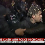 Vic Mensa among protestors clashing with Chicago police over Laquan McDonald shooting https://t.co/nssiSnr3Ld https://t.co/S01z21vDl2