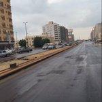 #مطر_الجبيل  شارع ابو بكر الصديق بالجبيل ، العام الماضي  والآن بعد هطول المطر يظهر جهود مميزة أنجزت  #شكرا https://t.co/8e9LZmwD5t