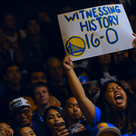 Special night on #WarriorsGround. #DubNation https://t.co/sUi2iueuO6