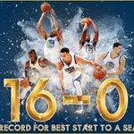 Golden State Warriors, LA Lakersı 111-77 yenerek 16-0 ile NBA tarihinin en iyi sezon başlangıcını yaptı. https://t.co/kArO0RL9js