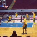 FEU mens basketball still warming up. Pray & support for the team! #BeBrave16 #McDoBonFriesFEU (c)@gamedaywithboom https://t.co/4aBq9Y2S16