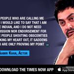 I am proud to be Indian: Aamir Khan https://t.co/fSwXZ1Yrjg