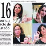 Todas juntas. Todos juntos. Pacto de Estado contra la Violencia de Género #DiaInternacionalContraViolenciadeGenero https://t.co/5cmUX1Pqy7
