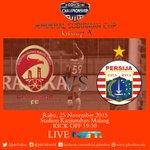 Hari ini! SFC vs Persija kick off 19.30 Stad Kanjuruhan, LIVE @netmediatama https://t.co/oJKB5EymBb #PersijaDay https://t.co/WtqNYFgRuf