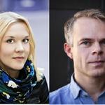 Dnes od 17 h v knihkupectví @Kosmas_cz na Florenci: autogramiáda T. Renberga a J. Holmströmové. @SkandinavskyDum https://t.co/5OjEpD8jiq