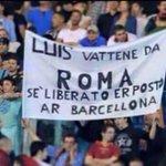 جمهور روما رفع هذه اللافتة ضد انريكي عندما كان مدربهم : لويس ارحل عن روما، يوجد مركز شاغر في برشلونة https://t.co/v6BzugCwJP