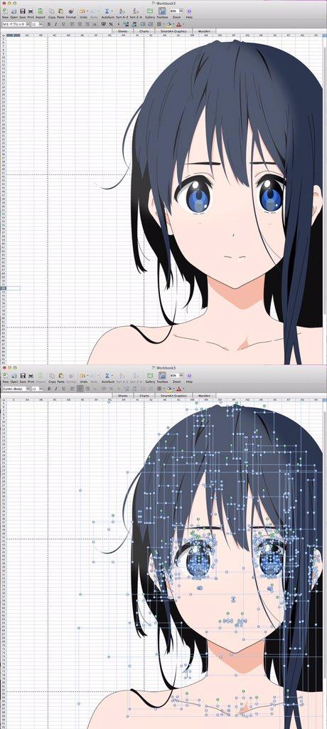 ・言われたこと 「なんでもいいからとにかく絵を描くんだ」  ○正しい理解 ようし、いっぱい絵を描くぞ!!  ×間違った理解 ワイ「……『なんでもいい』は『何を使っても良い』ということだな?」 ↓ 結果:Excelに行き着く https://t.co/7WcQI4Iq01