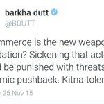 Intolerant MK Gandhi also used commerce weapon to boycott British goods. Kitna Tolerance @BDUTT https://t.co/Y15OQBJ80E