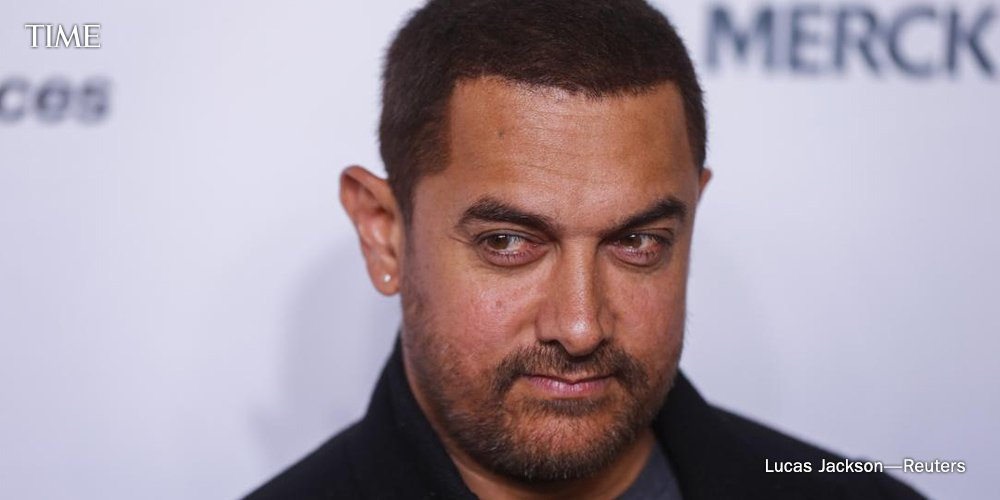 Bollywood star Aamir Khan under fire for complaining about India's religious intolerance