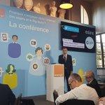 Thierry Sachot on stage sur la conference #IoT dOrange #datavenue #iot_city @llebott https://t.co/3TzfY2Sn7l
