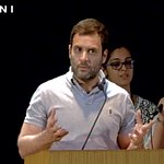 Rahul Gandhi: Is Swachch Bharat working? Crowd says Yes, some say No. Is Make in India working? Crowd answers Yes. https://t.co/ACRinTwFL0