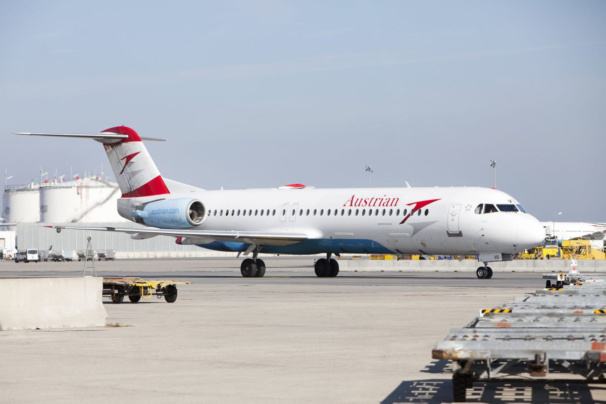 Austrian Airlines Sells Its Entire Fokker Fleet to Alliance Aviation of Australia