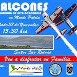 Halcones de la Fach se presentan en Monte Patria este sabado 28de noviembre @elovallino https://t.co/c3hua5cjiB
