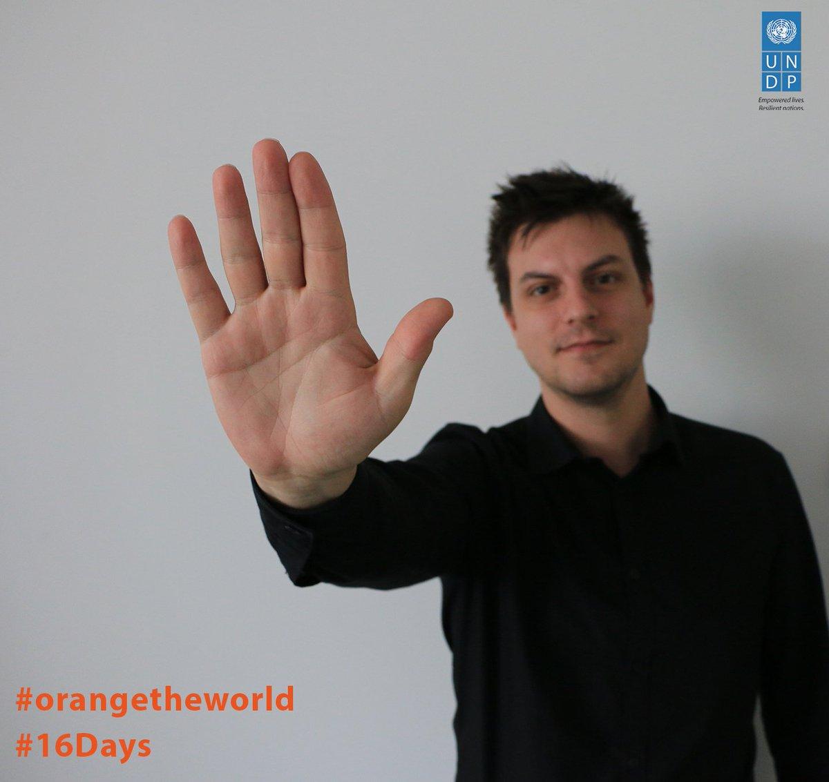 At @UNDP's #IstanbulHUB, we're united to end violence against women. Let's #orangetheworld! @SayNO_UNiTE https://t.co/xgOyHury7V