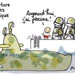 """""""@plantu: Réouverture des écoles en Belgique. Le dessin du monde de ce mercredi 25 novembre 2015. https://t.co/CvH8IQ8Evm"""""""