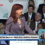 """[AHORA] @CFKArgentina: """"También hoy inauguramos la plataforma #Odeon, un emprendimiento del INCAA y ARSAT"""" https://t.co/ClNv4PmAic"""