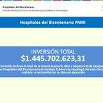 Hospitales del Bicentenario PAMI https://t.co/rohlpzzXXJ