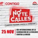 Todos y todas podemos luchar contra la violencia a la mujer. Si conoces un caso, ¡#NoTeCalles! #25Nov https://t.co/uDmvxpyvu0