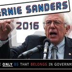 """@BernieSanders is the only BS that belongs in government"" -@2infamouz @SenSanders @KillerMike https://t.co/qZorOHlMHb"
