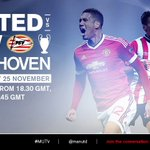 Tune in to #MUTV from 18:30 GMT (UK/IRE) for the best build-up to #mufc v PSV: https://t.co/c0h5VIPi6O https://t.co/rlP3A5EfjH