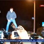 @Vitalyzdtv se popeo na automobil u kojem je Ivo Sanader. #uživo na @N1infoZG https://t.co/1ZmNplWly5