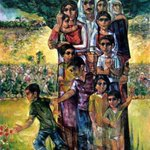 و الله لأزرعك في الدار يا عود اللوز الأخضر  و أروي هالأرض بدمي تتنور فيها و تكبر  #فلسطين https://t.co/saFkoYoFXI