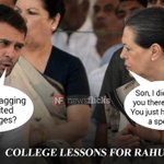What did he ask Sonia when empowered women of an all-girls college left #RahulStumped ? (satire) https://t.co/xnOBc43sUQ