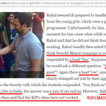 #RahulStumped Bwahaha! Here is what happened in Mount Carmel College. Imagine if he was in some Non-Xian Institution https://t.co/6c5lgZR0YL