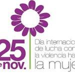 En el Día Internacional de la eliminación de la violencia contra la mujer: #NiUnaMenos #NoalaViolenciadeGenero https://t.co/gCWVL1tn5N