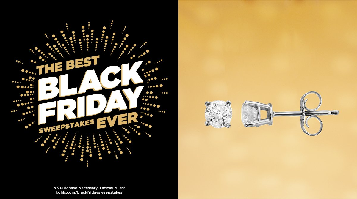 Are these diamonds about to be your new best friend? RT for a chance to win! #KohlsSweepstakes #BlackFriday https://t.co/HDIPMW5q26