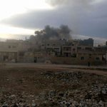 #Syria #Aleppo #Russian airstrike hit #Azaz city 4km from #Turkey border https://t.co/y8WX82eEZC https://t.co/zQ3ST2N0fW