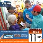 Faltan 11 días para salir a votar por una #Venezuela de cambio donde todos tengan oportunidades #6D #VOTA #Unidad https://t.co/drIRBG2YaV