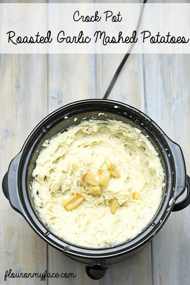 Crock Pot Garlic Mashed Potatoes https://t.co/CccPg8oAgQ https://t.co/vZEfWCMX0a