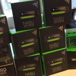 I got swagged out! And im swagging you out! To try to win a NABU, be sure to Follow me & @Razer + RT to enter! ✅💚🐍 https://t.co/eSOfAOZ7Bt