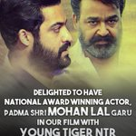 RT @MythriOfficial: Here's the BIG News! Like you all, we can't wait to watch them together on the Big Screen in #NTR26! https://t.co/kcKml…