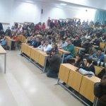 Gracias a todos los que habéis llenado la sala de hoy en Jerez! La gente quiere escuchar a Unidad Popular @iunida! https://t.co/KDR9Z34Srf