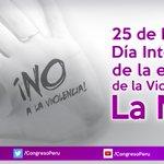 #HOY es el Día Internacional de la Eliminación de la Violencia contra la Mujer #NoTeCalles #NoalaViolenciadeGenero https://t.co/3041HCpsjA